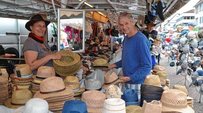 Welcher Hut darf es denn sein? Wer die Wahl hat, hat halt auch die Qual.