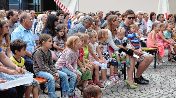 Beim Stadtfest am 13. und 14. Juli in Achern wird wieder viel geboten – auch für die Kinder.