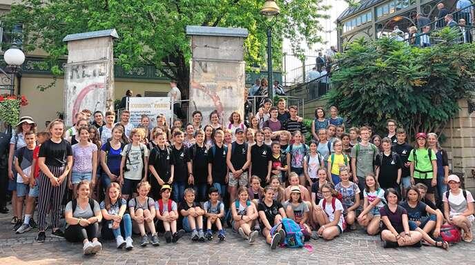 Die erfolgreichen Teilnehmer am Europäischen Wettbewerb 2019 des Hans-Furler-Gymnasiums erhielten im Europa-Park in Rust ihre Preise. Ein Bundespreis ging an Samuel Flach aus der 7d.
