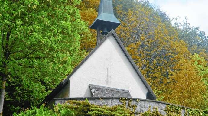 Die Marien-Kapelle in Ibach wird am 19. Juni 70 Jahre alt, sie steht auf einem kleinen Felssporn über dem Ortszentrum.