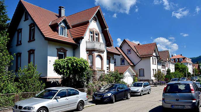 Die Ludwig-Albert-Straße ist eine von mehreren Straßen in Oberkirch, in der ab Mitte Juli die Parkzeit per Parkscheibenregelung begrenzt wird.