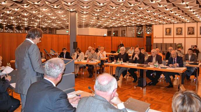 Bei den Haushaltsreden im Acherner Gemeinderat (unser Foto zeigt CDU-Chef Karl Früh) wird sich künftig auch die Fraktion von Bündnis 90 / Die Grünen zu Wort melden.