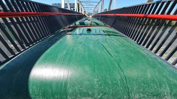 Besser geht es nicht, denn die neue Brücke schneidet im Praxistest hervorragend ab und bleibt unter den Grenzwerten.
