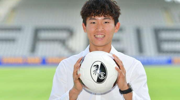 Wooyeong Jeong freut sich auf den SC Freiburg.