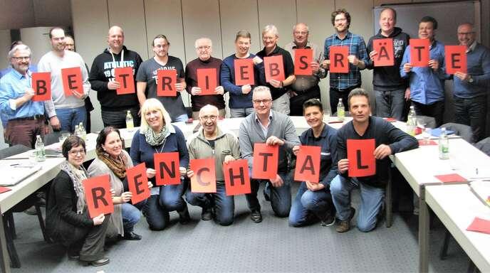 Die Mitglieder des Betriebsräte-Netzwerks Renchtal tauschten sich aus.