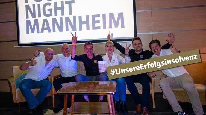 Das Team um Joachim Schäfer (Zweiter von links).