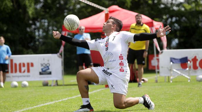 Vinicius Tavares konnte die beiden Niederlagen des FBC Offenburg nicht verhindern.