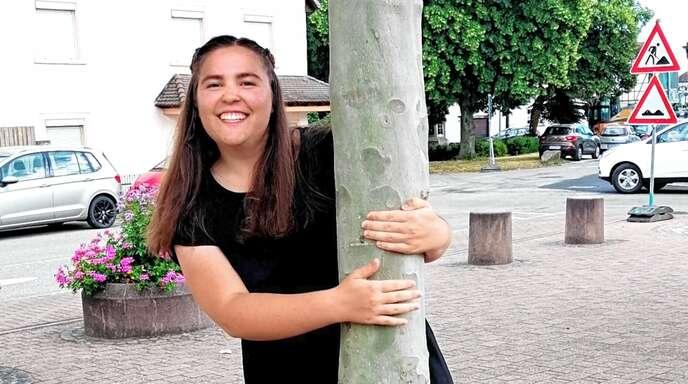 Elisa Zimpfer vom Anne-Frank-Gymnasium Rheinau möchte als Lehrerin Musik und Mathe unterrichten.