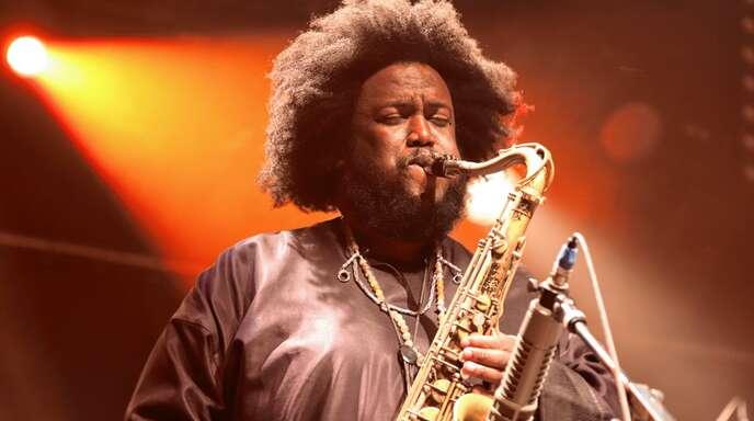 Jazzmusiker Kamasi Washington machte auf seiner Europa-Tournee einen Abstecher nach Freiburg.