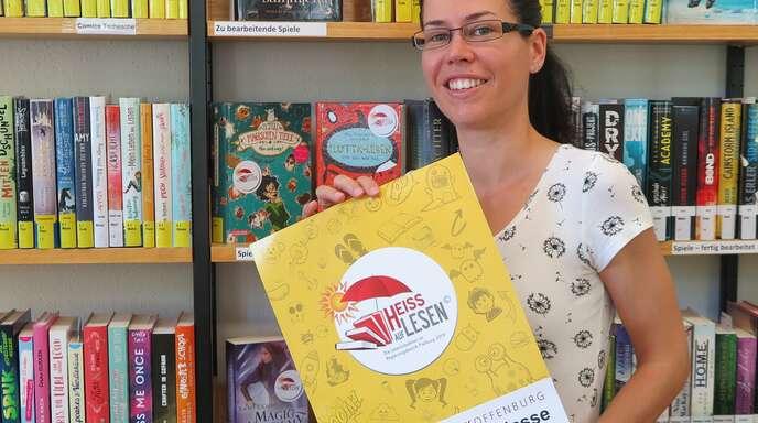 Patricia Buhle von der Stadtbibliothek.