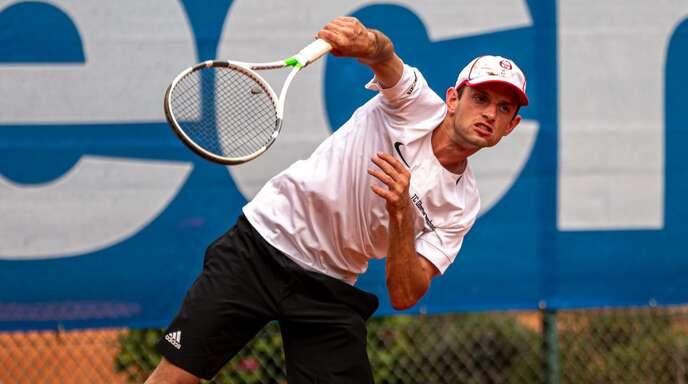 Markus Furtwengler musste sich im Herren-Finale dem 15-jährigen Max-William Kanz geschlagen geben.