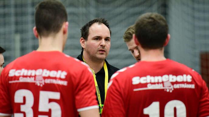 TuS-Trainer Nico Baumann sieht sein Team für die kommende Oberliga-Saison personell gut aufgestellt.