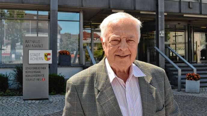Innerhalb von zehn Jahren hat Klaus Bär (77) für drei verschiedene Gruppierungen erfolgreich für den Acherner Gemeinderat kandidiert.