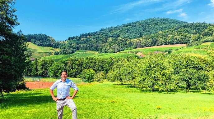 Die Planer für das Neubaugebiet Heidenhöfe/Gässelsmatt stehen fest, Bürgermeister Stefan Hattenbach freut sich über ein neues Wohnbaugebiet in Kappelrodeck.