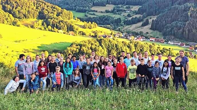 Im Rahmen ihres einwöchigen Aufenthalts in Simonswald haben sich 40 Jungmusiker aus Ebersweier intensiv mit ihren Instrumenten auseinandergesetzt. Es gab aber auch zusätzlich viele Programmpunkte.