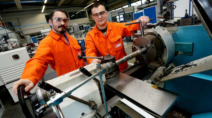 """Unter anderem die Badischen Stahlwerke präsentieren sich als Ausbildungsbetrieb bei """"Dein Ding #läuft""""."""