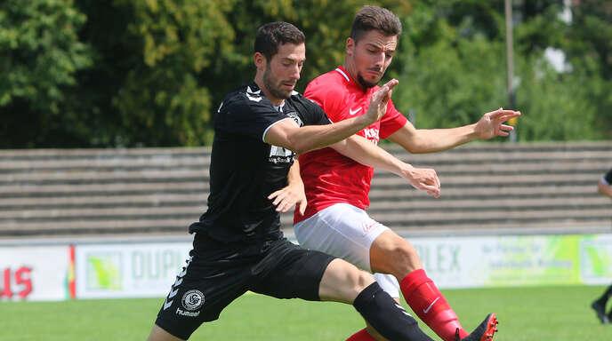 Neuzugang Diogo Carolina stand zum Saisonauftakt in der Anfangsformation des Offenburger FV und erzielte gegen den SV Bühlertal den Treffer zum zwischenzeitlichen 3:2.