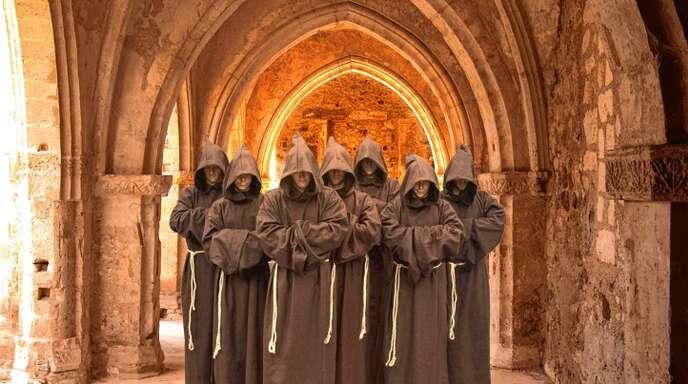 Bass, Bariton und Tenor: The Gregorian Voices verfügen über alle Tonlagen.