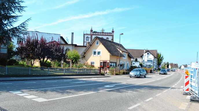 Die Fautenbacher Straße soll im Gesamtverlauf eine Abbiegespur erhalten.