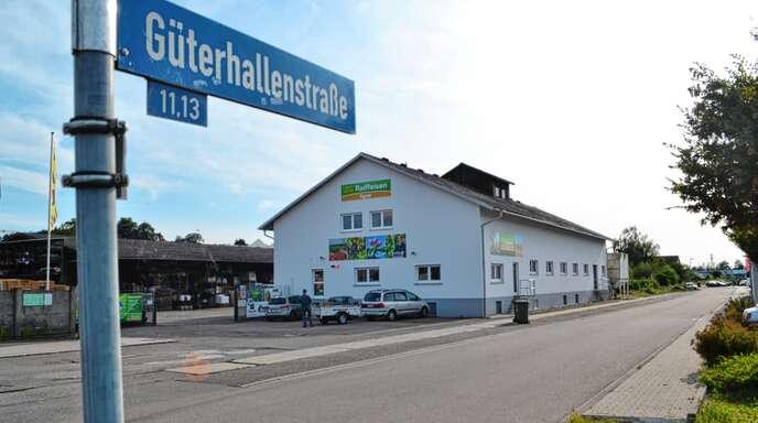Die Stichstraße Güterhallenstraße in Richtung Heckelfabrik soll in städtisches Eigentum übergehen.