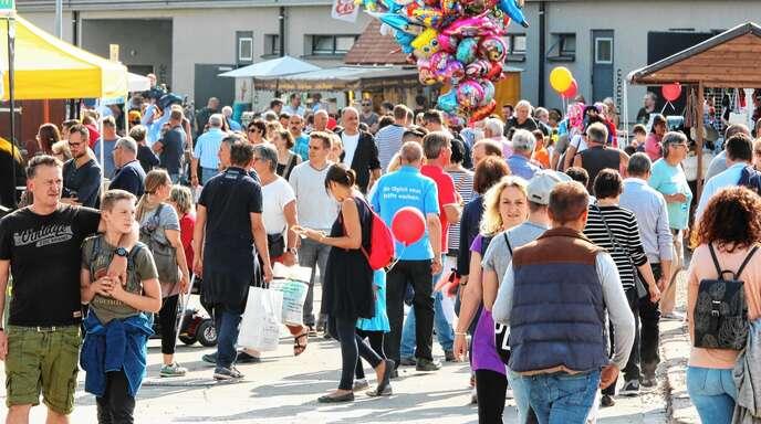 Acht Themenwelten erwarten die Besucher der 81. Oberrheinmesse in Offenburg in diesem Jahr. Startschuss ist am Samstag, 28. September, mit einem Konzert der Dorfrocker.