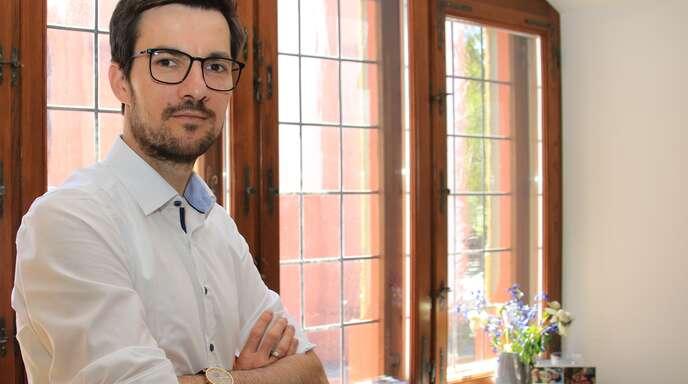 Martin Horn ist seit 14 Monaten Freiburger Oberbürgermeister.