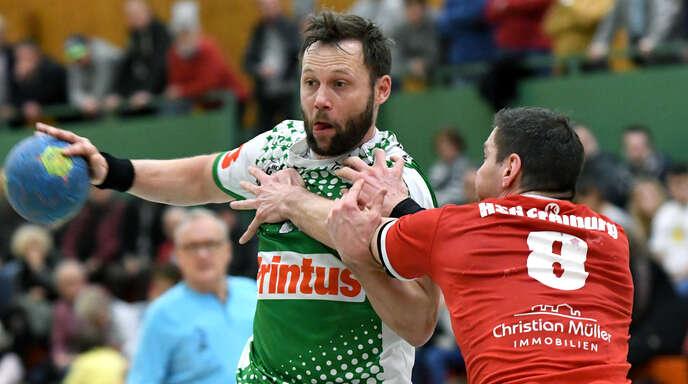 Stephane Robin erzielte vier Tore für den HC Hedos in Steißlingen.