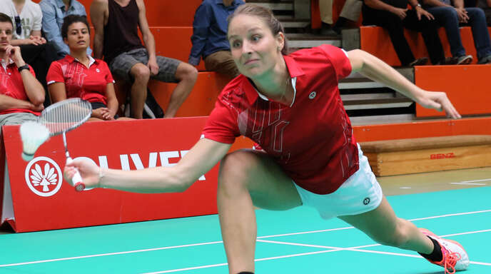 Samira Schilli gab gegen Schorndorf ihr Debüt für den BCO in der 2. Bundesliga.