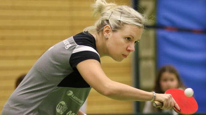 Edina Toth ist mit der DJK Offenburg zurück in der 2. Bundesliga.