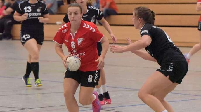 Teresa Beathalter steuerte fünf Tore zum Sieg des TuS Schutterwald bei.