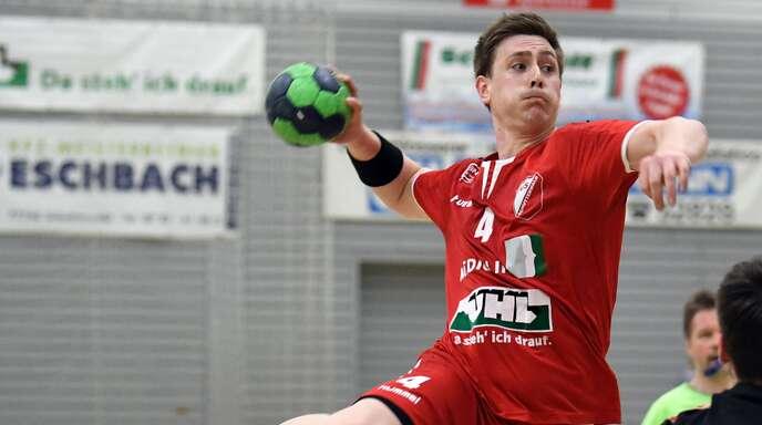 Schutterwalds Rückraum-Ass Tim Heuberger machte ein überragendes Spiel, traf bei insgesamt elf Versuchen insgesamt neun Mal.
