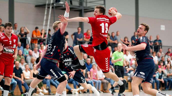 Christoph Baumann ist auch in der Oberliga kaum auszuschalten und Dreh- und Angelpunkt im Spiel des TuS Schutterwald.