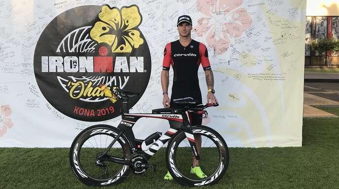 Senkrechtstarter Jochen Lehmann freut sich auf seine erste Teilnahme bei der Ironman-WM.