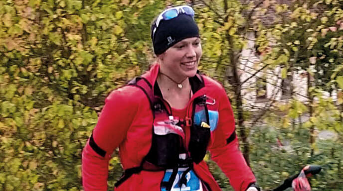 Mit dem Siegerlächeln im Gesicht war Miriam Köhler beim Black Forest Trailrun Masters unterwegs.