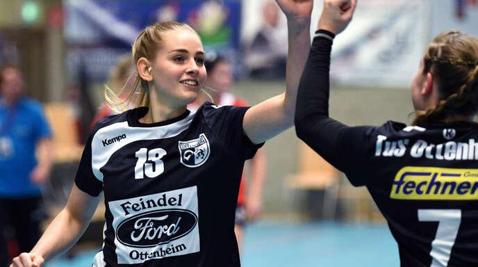Vivienne Quennet war mit neun Toren erfolgreichste Schützin des TuS Ottenheim.