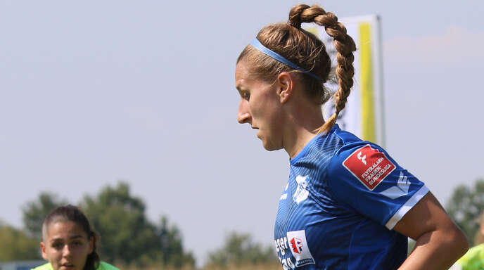 Sands Neuzugang Dörthe Hoppius spielt am Sonntag gegen ihre ehemalige Mannschaft MSV Duisburg.