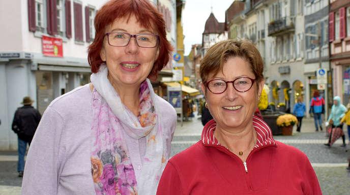 Doris Herzog (links) und Annemarie Thompson sind die Vorsitzenden der Initiative für gemeinschaftliches Wohnen in Lahr.