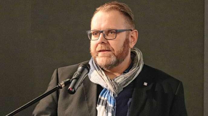 Guido Schöneboom, der von Leipzig nach Lahr kam, erzählte, wie er den Mauerfall erlebt hat.