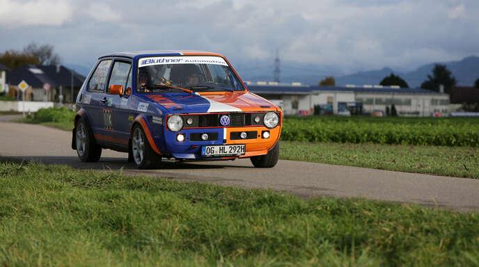 Auf schön restaurierte VW Golf GTI dürfen sich die Besucher des Ried-Rallye-Sprints am Samstag freuen.