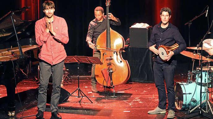 Triosence: Bernhard Schüler (von links), Omar Rodriguez Calvo und Tobias Schulte.