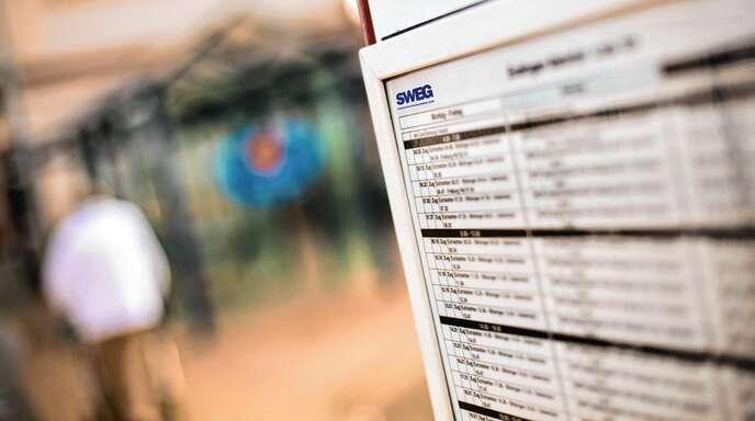 Reisende mit Bussen und Bahnen der SWEG müssen sich ab Sonntag, 15. Dezember, an einen neuen Fahrplan gewöhnen.