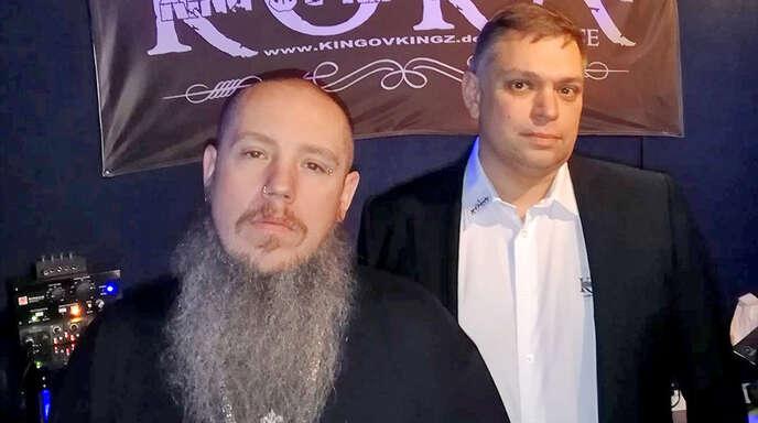 Ein erfolgreiches Team: Songwriter, Rapper, Produzent und Grafikdesigner Sascha Hummel (links) und Marketingfachmann Markus Schneider.
