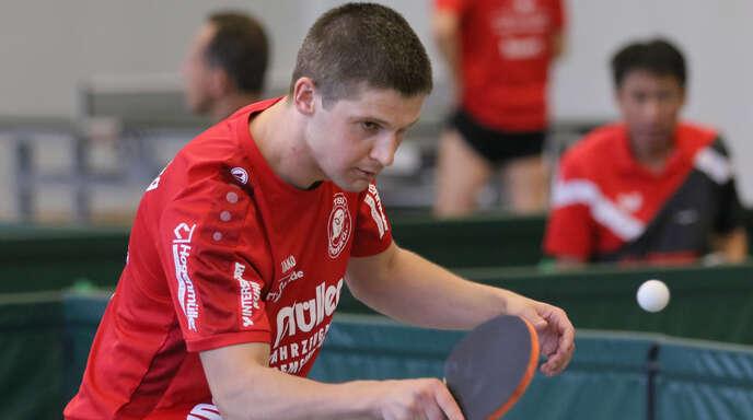 Kestutis Zeimys musste sich mit Aufsteiger TTSF Hohberg erstmals in dieser Saison geschlagen geben.