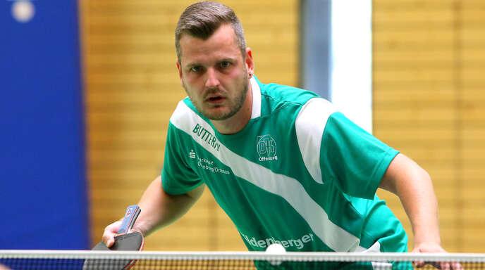 Yannik Schwarz war der überragende Akteur der DJK Offenburg und an vier der acht Siege der Ortenauer beim 8:8 gegen Ottenau beteiligt.