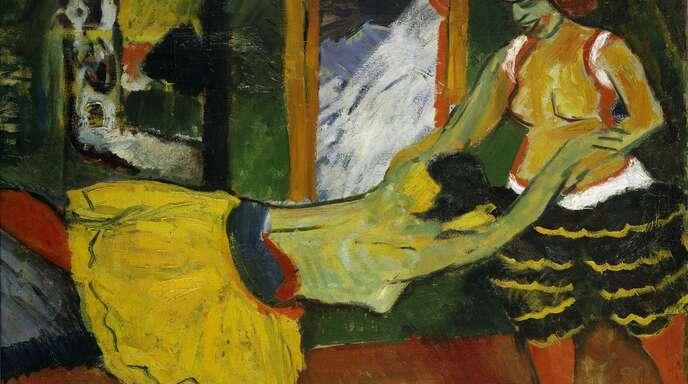"""Max Pechstein: """"Tanz"""" (1909)"""