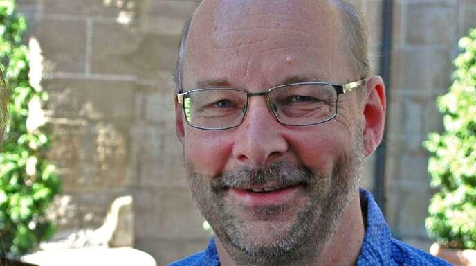 Frank Wörner leitet das Ensemble Exvoco und organisiert das Klangraum-Festival
