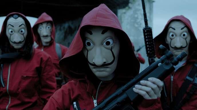 Die Story um die Bankräuber mit den Dalí-Masken geht in die vierte Runde.