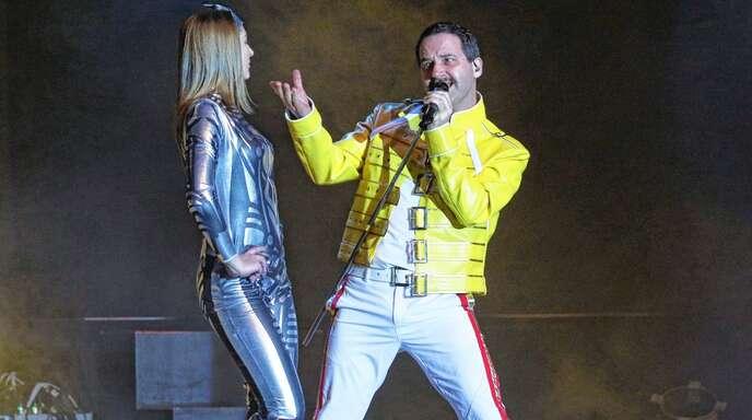 Micha van de Weg konnte in der Rolle von Freddie Mercury überzeugen.