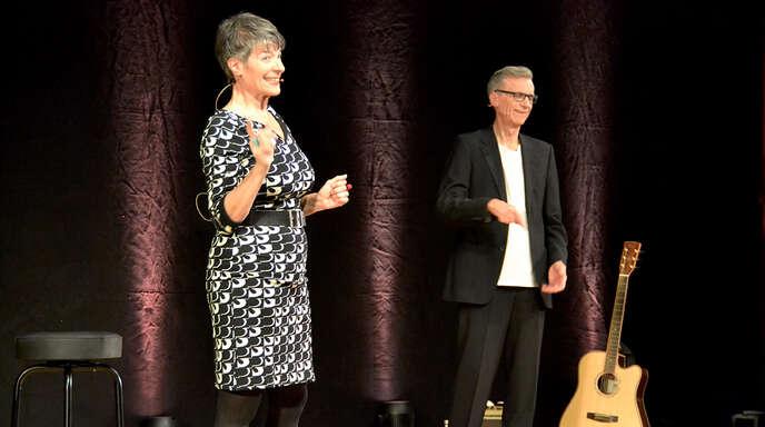 Silvana und Thomas Prosperi singen, machen Musik und spielen mit Worten.