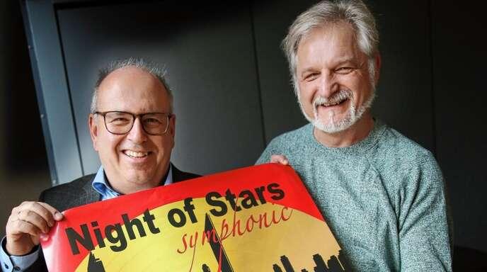 """Laden in die """"Motown"""" Detroit ein: Peter Stöhr (links) und Rolf Schilli."""